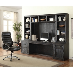 "Storage Desk with Hutches - 105""W, 14931"