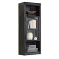 "Four Bookcase Hutch with Glass Door - 21""W x 54""H, 14924"