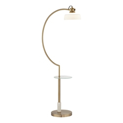 Glass Shelf Floor Lamp, 82656