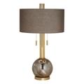 Copper Mercury Glass Table Lamp, 82659