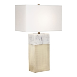 Marble Accent Table Lamp, 82663