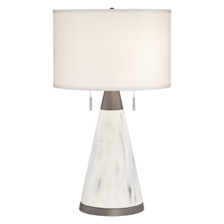 Marble Cone Table Lamp, 82664