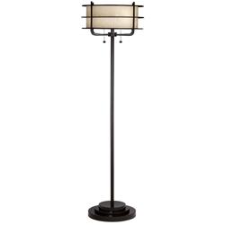 Metal Pull Chain Floor Lamp, 92074