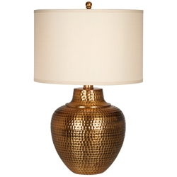 Punched Metal Table Lamp, 92063