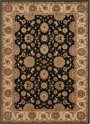 """Persian Crown Area Rug 3'9""""W x 5'9""""D, 91612"""