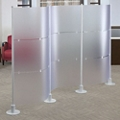 "Three Section Modular Partition - 128.375""W x 72""H, 21374"