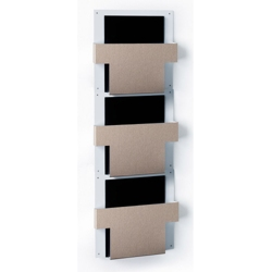 Three Pocket T-Style File Chart Holder, 33421