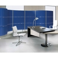 """Eighteen Panel Acoustic Divider - 72""""H, 21405"""