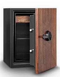 3 Cubic Feet Fire Resistant Wood Door Record Safe, 31914
