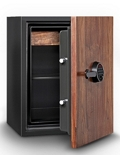 3 Cubic Feet Fire Resistant Wood Door Record Safe, 31914