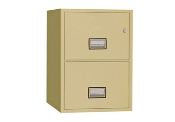 "Fireproof Two Drawer Vertical File - 16.875""W x 31""D, 34043"