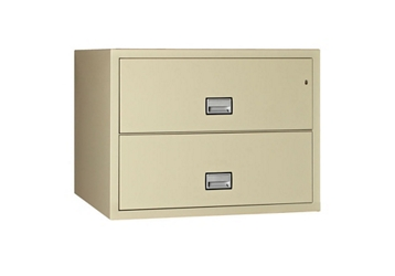 "Fireproof Two Drawer Lateral File - 23.5"" D, 32266"