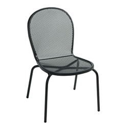 Armless Metal Outdoor Chair, 50897