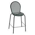 Armless Metal Outdoor Stool, 50899