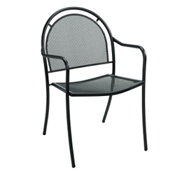 Perforated Metal Outdoor Chair , 50901