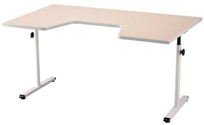 "Adjustable Height Therapy Table with Comfort Curve - 59""W x 35""D, 26800"