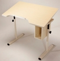 "Adjustable Height Student Desk with Tilt - 40""W x 24""D, 26799"
