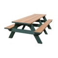 Recycled Plastic Standard Picnic Table 8', 85173