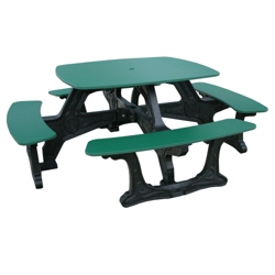 Bistro Style Recycled Plastic Picnic Table, 85311