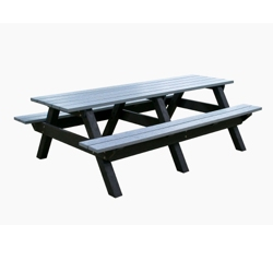 Deluxe Recycled Plastic Picnic Table 8', 85320
