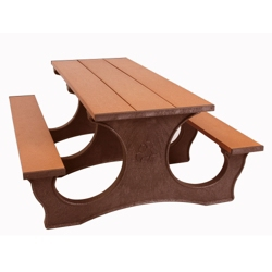 Easy Access Recycled Plastic Picnic Table 6', 85371
