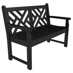 "Chippendale Bench 48"", 76008"