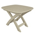 "Nautical Side Table 21"" x 18"", 85441"