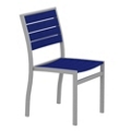 Euro Dining Side Chair in Vibrant Colors, 85535