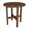"Round Side Table18"", 85599"