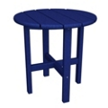 "Round Side Table 18"" in Vibrant colors, 85600"