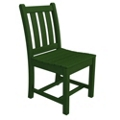 Traditional Garden Dining Side Chair, 85660