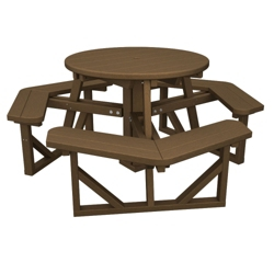 "Round Picnic Table 36"", 85670"