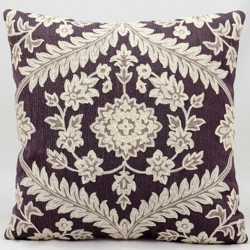 """kathy ireland by Nourison Floral Two Tone Square Pillow -18"""" x 18"""", 82265"""