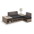 Encounter Four Piece L-Shaped Modular Seating Set, 46850