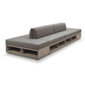 Encounter Six Piece Loveseat and Bench Set, 46893