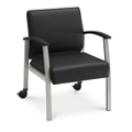 Compass Guest Chair with Arms and Casters, 76518