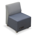 Compass Armless Lounge Chair, 76524
