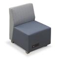 Compass Armless Lounge Chair, 76524