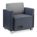 Compass Lounge Chair with Arms, 76527