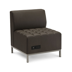 Traffic Armless Chair with Power, 76538