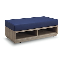 Encounter Double Seat Storage Bench, 76623