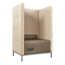 Traffic Privacy Lounge Chair, 76884