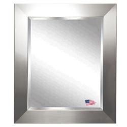 "35.5""H x 29.5""W Beveled Wall Mirror, 87409"