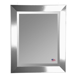 "35.5""H x 23.5""W Beveled Wall Mirror, 87412"