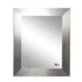 """32.5""""H x 26.5""""W Silver Frame Wall Mirror, 87418"""