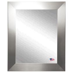 """45.5""""H x 39.5""""W Silver Frame Wall Mirror, 87421"""