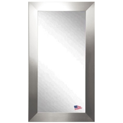 "65.5""H x 30.5""W Silver Frame Floor Mirror, 87422"