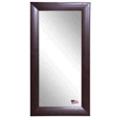 "65.75""H x 30.75""W Leather Floor Mirror, 87438"