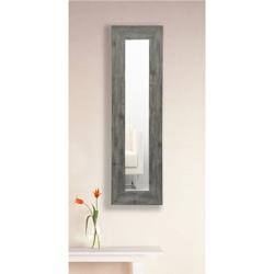 "21.5""H x 9.5""W Decorative Wood Frame Mirror Panel, 91472"