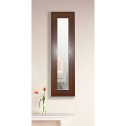 "29.5""H x 15.5""W Decorative Wood Frame Mirror Panel, 91473"